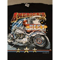 Motor Cycle-America's Best on a new black XL tee shirt