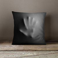 Spooky Decor | Teen Gift | Cool Mens Gift | Cool Pillows | Hostess Gift | Throw Pillow | Accent Pillow | Creepy Cushion