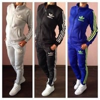 Adidas Sports add thick cotton suit woman