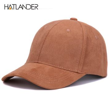 Trendy Winter Jacket Plain Suede baseball caps with no embroidered casual dad hat strap back outdoor blank sport cap and hat for men and women AT_92_12