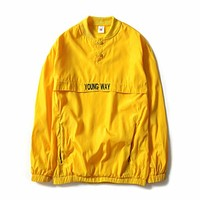 """OFF WHITE """"Young Way"""" Windbreaker"""