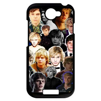 Evan Peters Collage 2 1 HTC One S Case