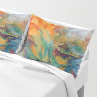 Boom Pillow Sham by duckyb