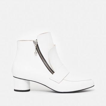 Opening Ceremony Shiny Calf Zan Loafer Booties - WOMEN - JUST IN - Opening Ceremony