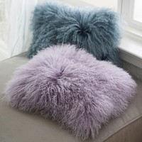 Mongolian Fur Pillow Cover