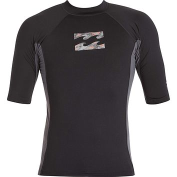 Billabong Iconic Short Sleeve Rashguard