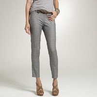 Women's new arrivals - pants - Glen plaid Minnie pant - J.Crew