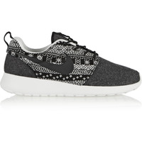 Nike - Roshe One Winter wool and wool-felt sneakers