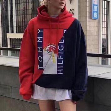 '' Tommy Hilfiger '' Women Hot Hoodie Sweater