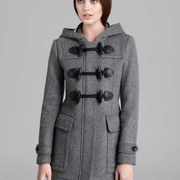 Burberry Brit Blackwell Wool Toggle Coat | Bloomingdale's