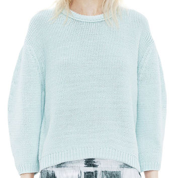 Acne Studios Shelby Mint Boxy Sweater