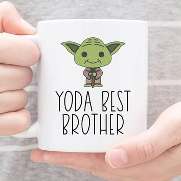Coffee Mug | Yo Da Best Brother | Funny Mug | Brother Gift | Pun Coffee Cup | Gift For Brother | Best Brother Mug