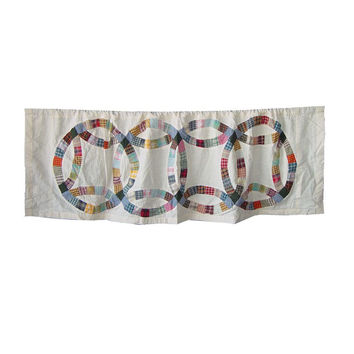Curtain Valance Country Wedding Ring
