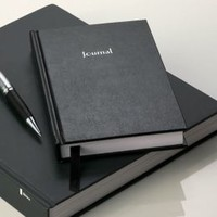 Basic Black Lined Journal 5