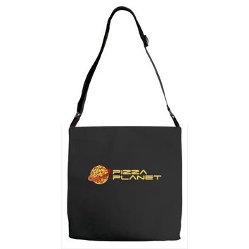 Pizza Planet Adjustable Strap Totes