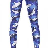 Shark Camo Leggings
