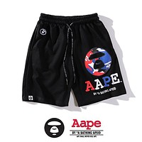 BAPE AAPE Summer Trending Men Women Casual Print Sport Shorts