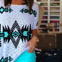 Aztec Lightweight Knit