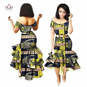New African Wax Print Dresses for Women