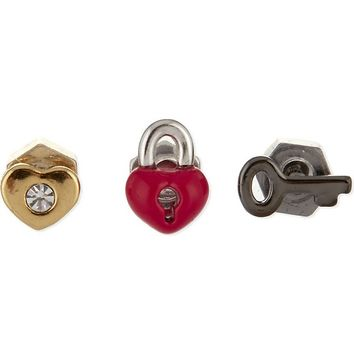 MARC BY MARC JACOBS - Giving love earrings 3-piece | Selfridges.com