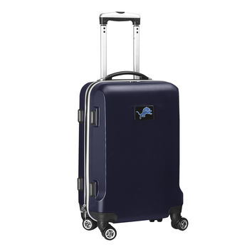Detroit Lions  20'' Hardcase Luggage Carry-on Spinner-Navy