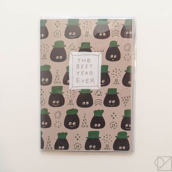 TADA Reiko Best Year Ever 2017 A6 Monthly Planner