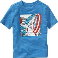 Marvel Comics™ Captain America Tees for Baby
