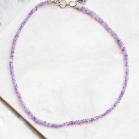 Carry Me Necklace, Purple