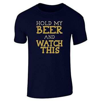 Hold My Bear And Watch This - Beer/Drinking T-shirt