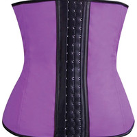 Gym Work Out Waist Trainers Purple Sm