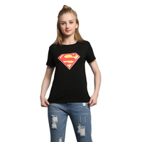 Ladies Summer Superman T-shirts [10710152647]