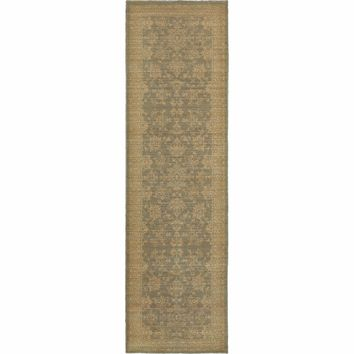 Foundry Blue Beige Oriental Persian Traditional Rug