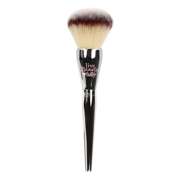 Hot selling 1 pcs Silver Color Powder Brushbeauty maquillage  maquillage full face powder paint fashion makeup powder brushes