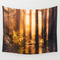 Take me! Wall Tapestry by HappyMelvin