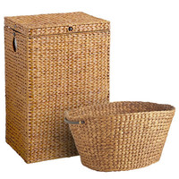 Carson Hamper & Laundry Basket - Honey