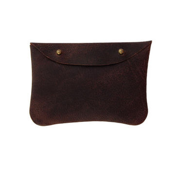 """Leather purse """"Burito"""" 
