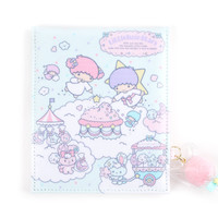 Little Twin Stars Foldable Mirror: Cotton Candy