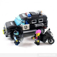 Police SWAT Vehicle - Lego Compatible