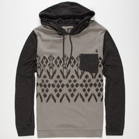 Volcom Brovin Mens Lightweight Hoodie Slate  In Sizes
