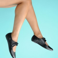 Pinup Girl Clothing- All Tied Up Shoes in Black | Pinup Girl Clothing