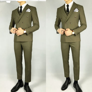 2-piece Double-Breasted Suit