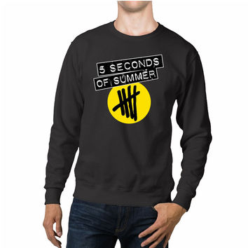 5 Seconds Of Summer Circle Logo Unisex Sweaters - 54R Sweater