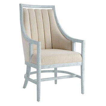 By the Bay Armchair, Sea Salt - Side Chairs - Dining Chairs - Dining Room - Furniture | One Kings Lane