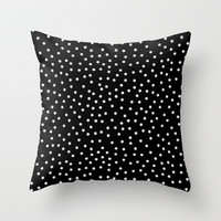 Map of the star II Throw Pillow by MJ Mor