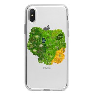 FORTNITE MAP CUSTOM IPHONE CASE