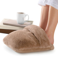 nap Luxe Massaging Foot Warmer at Brookstone—Buy Now!