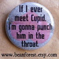 punch Cupid in the throat by beanforest on Etsy