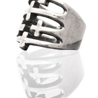 CROSSED UP RING - Accessories - WOMENS