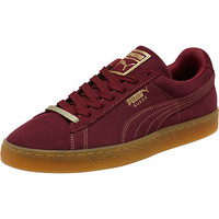 Suede Classic Gold Foil Men's Sneakers, buy it @ www.puma.com