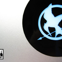 Cool Hunger Games Mocking Bird Seal Macbook Laptop Vinyl Sticker Decal Apple Air Pro